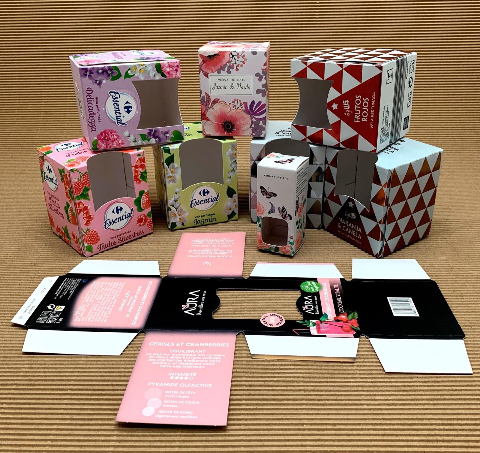 materiales packaging para cada tipo de producto